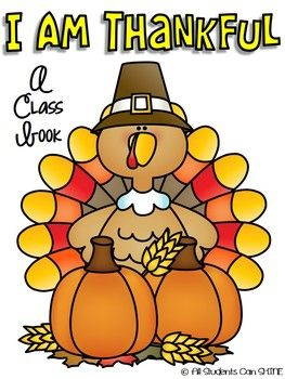I am thankful for clipart banner freeuse download I Am Thankful - A Thanksgiving Class Book   Thanksgiving ... banner freeuse download