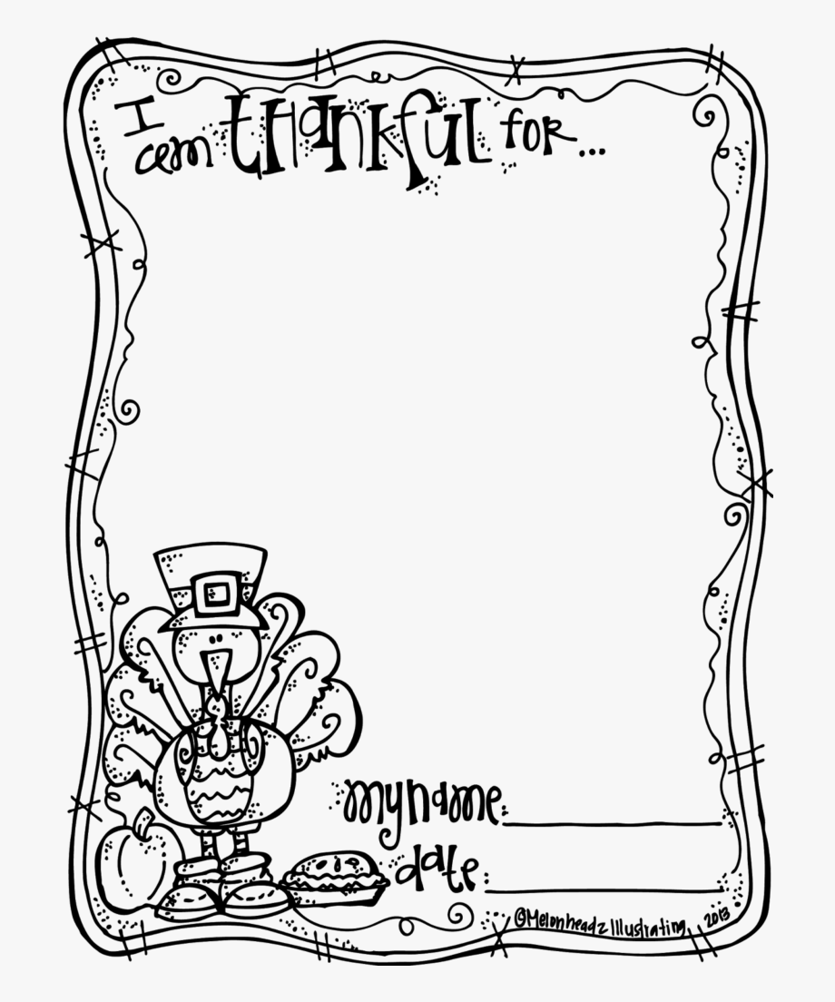 I am thankful for clipart png download Thanksgiving Clipart Black And White Book Clipart ... png download