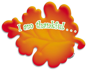I am thankful for clipart picture freeuse library I Am Thankful...Leaf   Printable Clip Art and Images picture freeuse library
