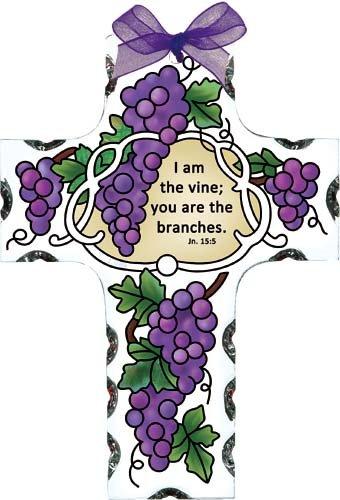 I am the vine clipart graphic black and white download Amazon.com : Grape Arbor I Am the Vine John 15:5 Cross ... graphic black and white download