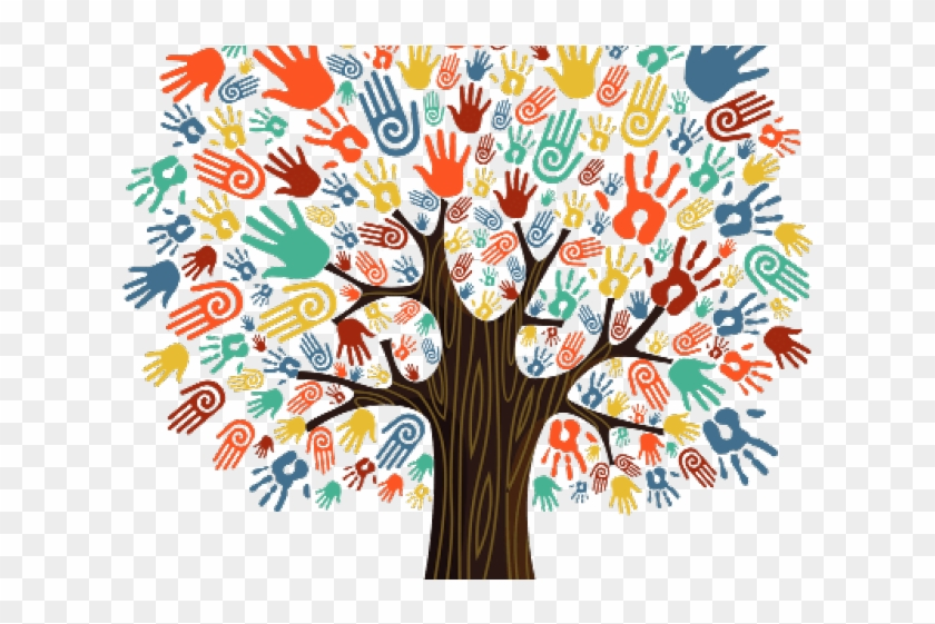I can make clipart picture download Handprint Clipart Handprint Tree - Together We Can Make A ... picture download