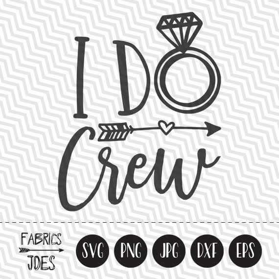 I do crew clipart image free stock I Do Crew svg Wedding svg Bridesmaid svg Ring svg Clipart in ... image free stock