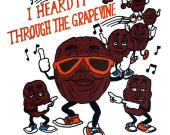 I heard it through the grapevine clipart black and white E-News black and white