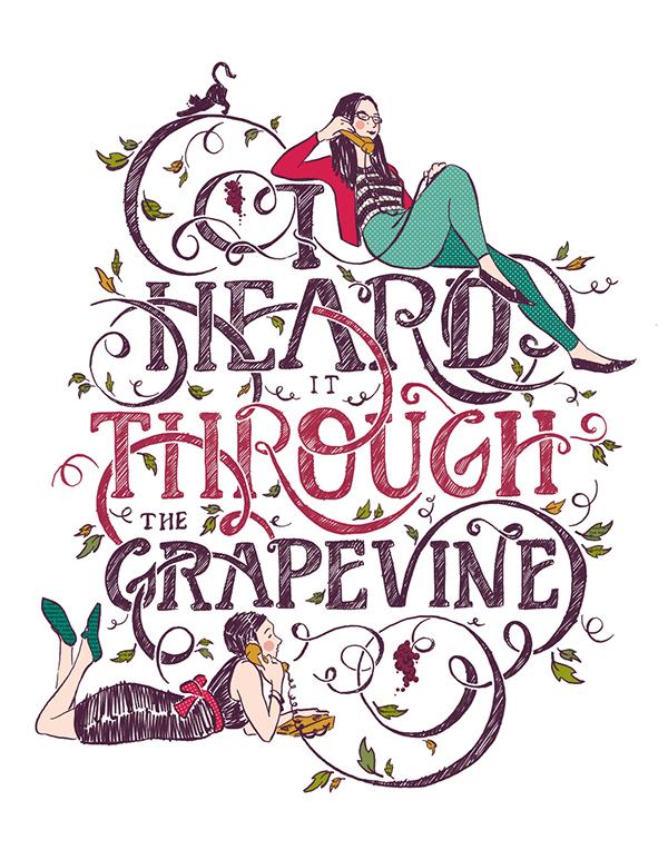 I heard it through the grapevine clipart graphic transparent download Heard It Through the Grapevine on Behance graphic transparent download