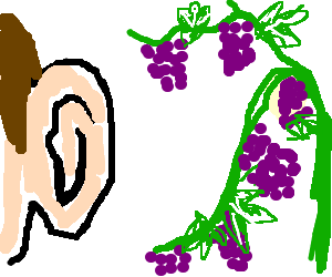 I heard it through the grapevine clipart clip art freeuse stock ♪What´s love? Baby don´t herd me (hurt ^o??) ♪â ... clip art freeuse stock
