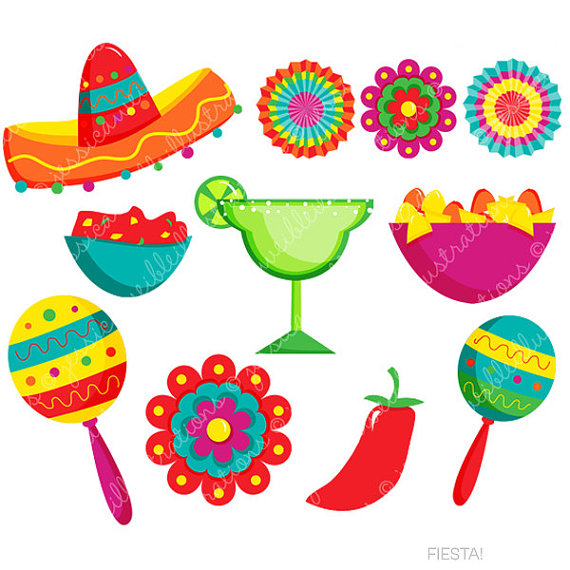 I like spanish clipart svg transparent download Fiesta Cute Digital Clipart Spanish Mexican Clipart Mexican svg transparent download