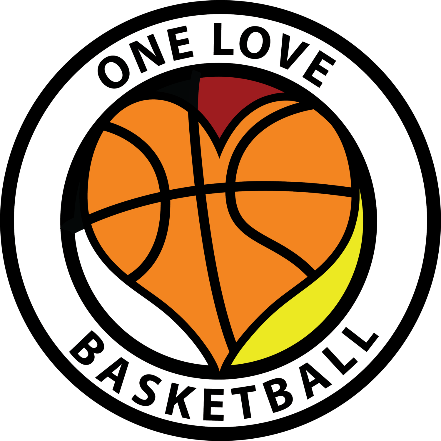 I love basketball clipart transparent One Love Basketball transparent