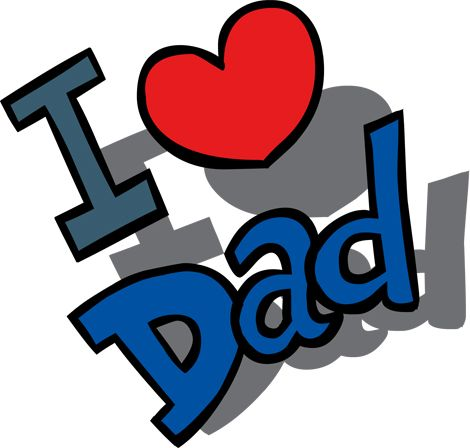 I love my dad clipart clipart download Clipart Image of an I Love Dad Message for Father\'s Day ... clipart download