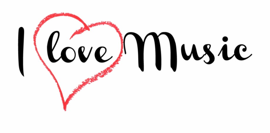 I love music clipart picture I Love Music Transparent Image - Calligraphy Free PNG Images ... picture