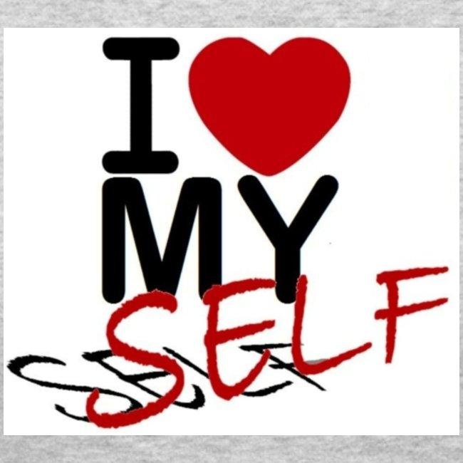 I love myself clipart royalty free I Love Myself | Women\'s Long Sleeve Jersey T-Shirt royalty free