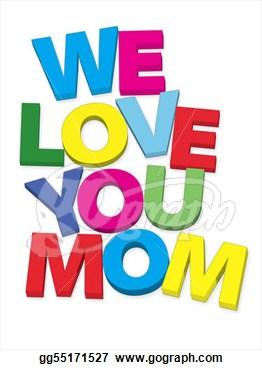 I love u mama clipart png royalty free I Love You Clipart - Clipart Kid png royalty free