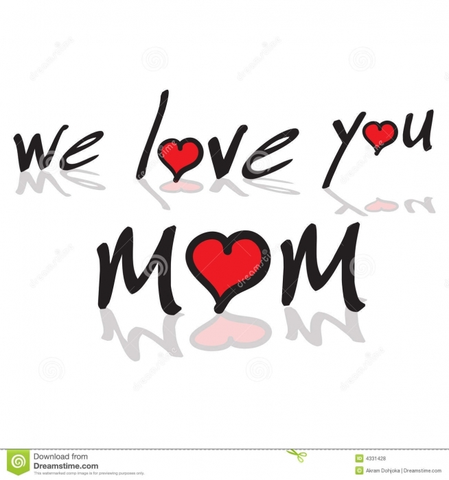 I love u mama clipart free stock we love you mom quotes tagalog - Quote Image Today free stock