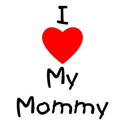 I love u mama clipart svg royalty free I love u mama clipart - ClipartFest svg royalty free