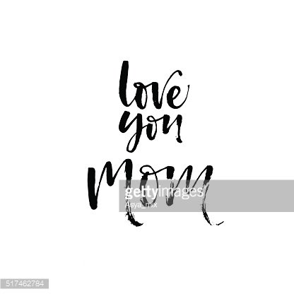 I love you card clipart black and white png transparent download Love You Mom premium clipart - ClipartLogo.com png transparent download
