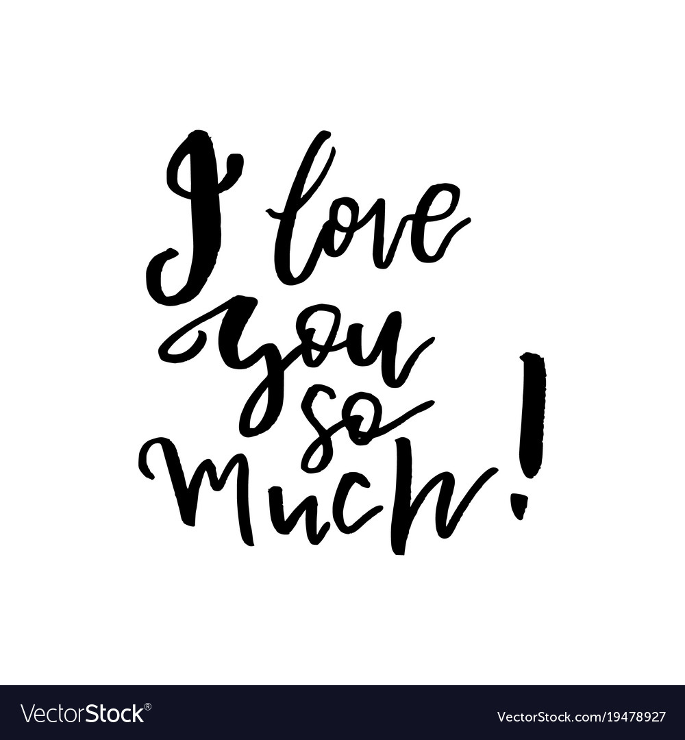 I love you card clipart black and white picture black and white download I love you so much - happy valentines day card picture black and white download