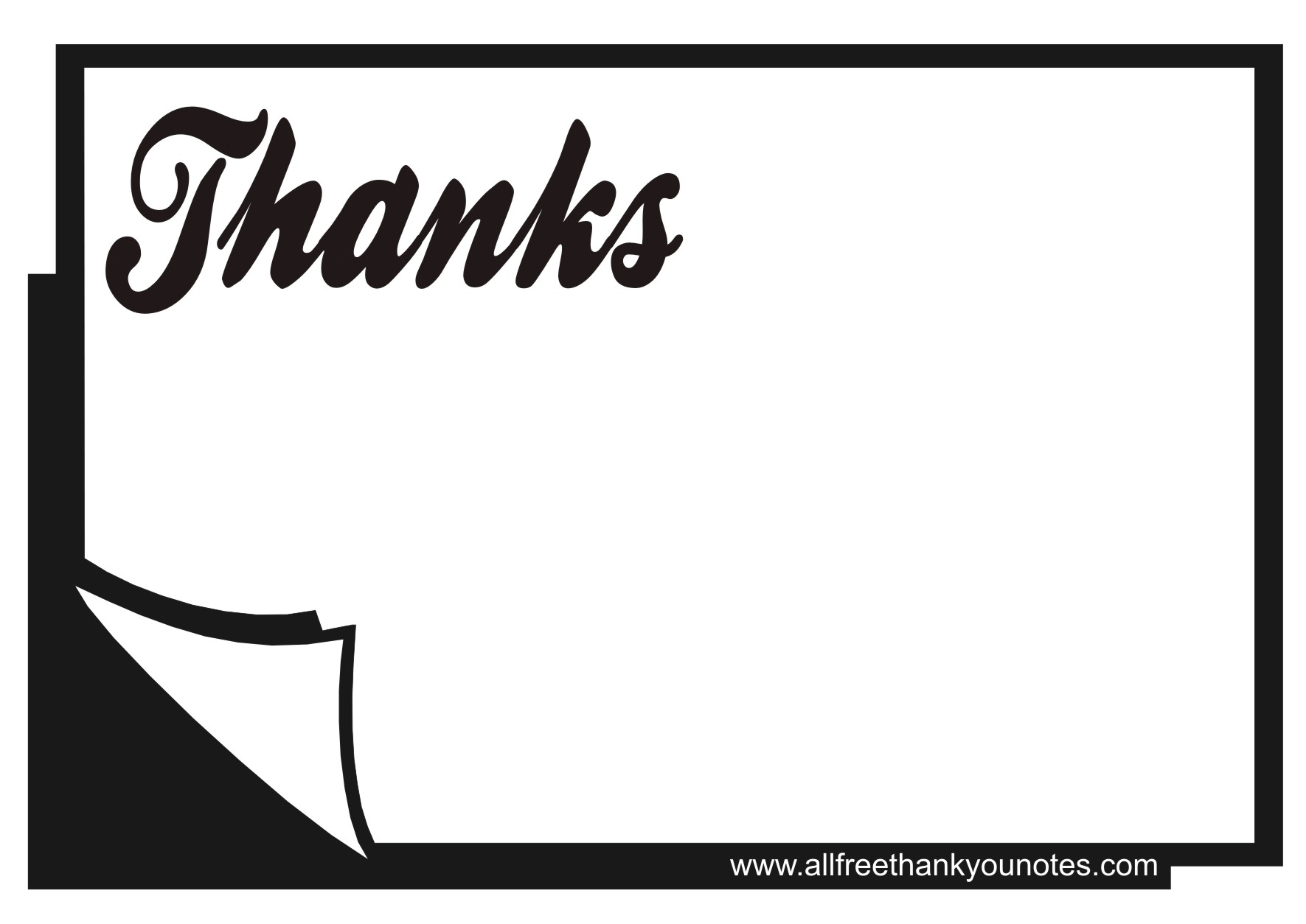 I love you card clipart black and white graphic royalty free stock Thank You Clipart Black And White - 68 cliparts graphic royalty free stock
