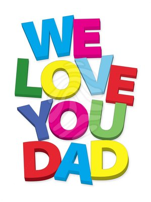 I love you daddy clipart banner transparent stock Clip art: we love you dad | Clipart Panda - Free Clipart Images banner transparent stock