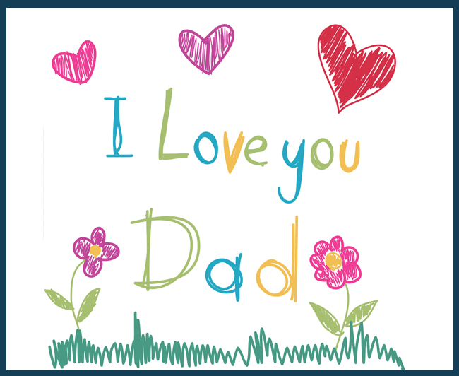 I love you daddy clipart picture black and white library Daddy, I Love You – Rathfarnham Day Care / Creche picture black and white library