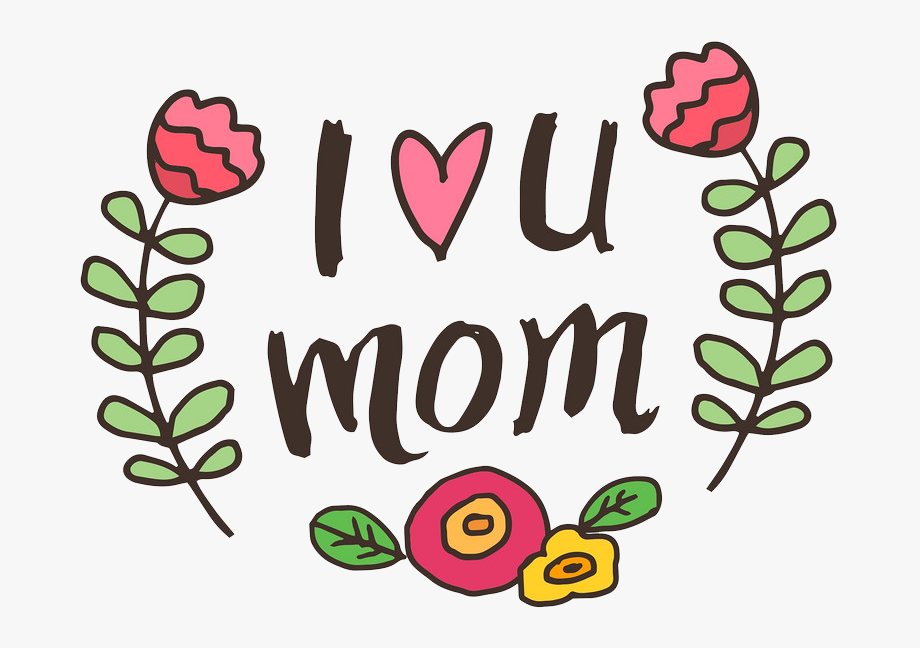I love you mom and dad clipart black and white I Love You Mom Png File - Te Amo Mama En Ingles #89198 ... black and white