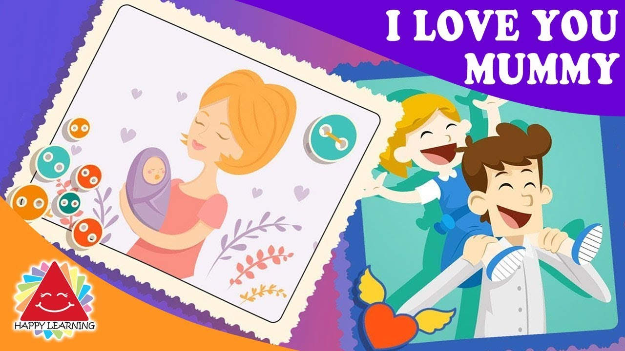 I love you sign child clipart clip download Songs for kids - I Love You Mummy | I love you daddy clip download