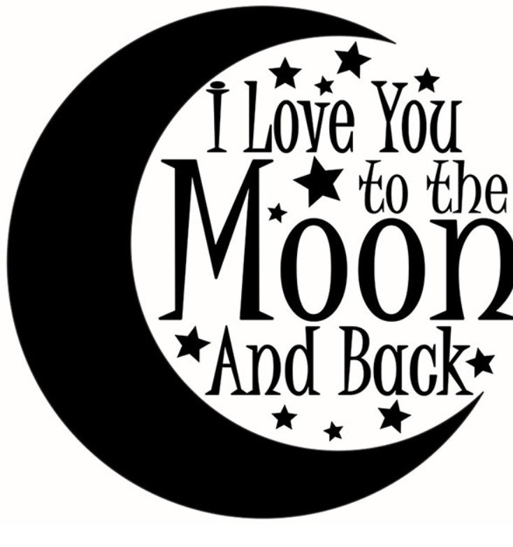 I love you to the moon and back clipart banner free stock Love you to the moon and back clipart 7 » Clipart Station banner free stock