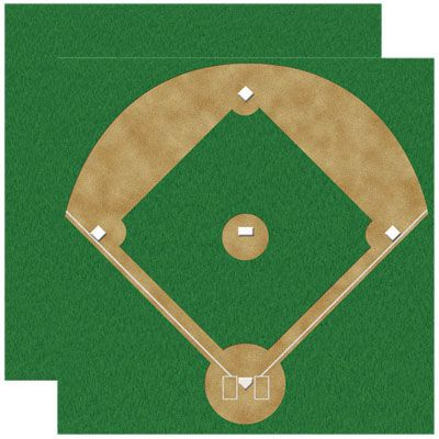 I m all about that baseball diamond clipart picture royalty free DIY Baseball Diamond Bulletin Board | Chase | Baseball ... picture royalty free