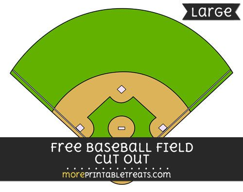 I m all about that baseball diamond clipart freeuse Free Baseball Field Cut Out - Large size printable ... freeuse