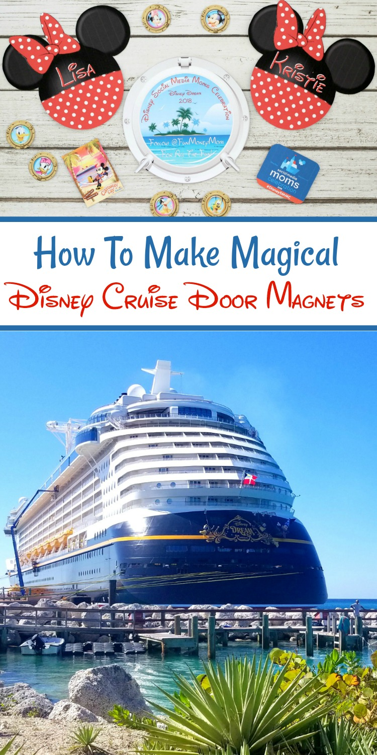 I m going on a disney cruise clipart picture black and white stock How To Make Magical Disney Cruise Door Magnets | Easy Step ... picture black and white stock