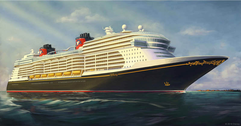 I m going on a disney cruise clipart clip freeuse library UPDATED: New Disney Cruise Ships Info & Rumors (September 2019) clip freeuse library