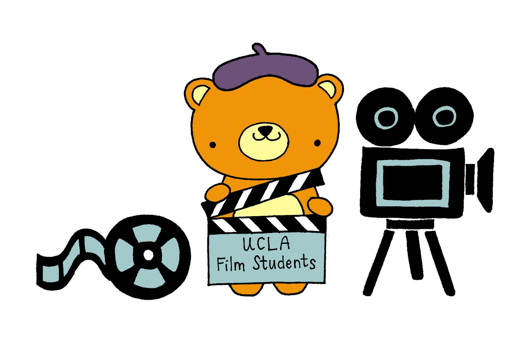 I m going to college ucla program clipart image transparent A new class of film students makes the cut, begins studies ... image transparent
