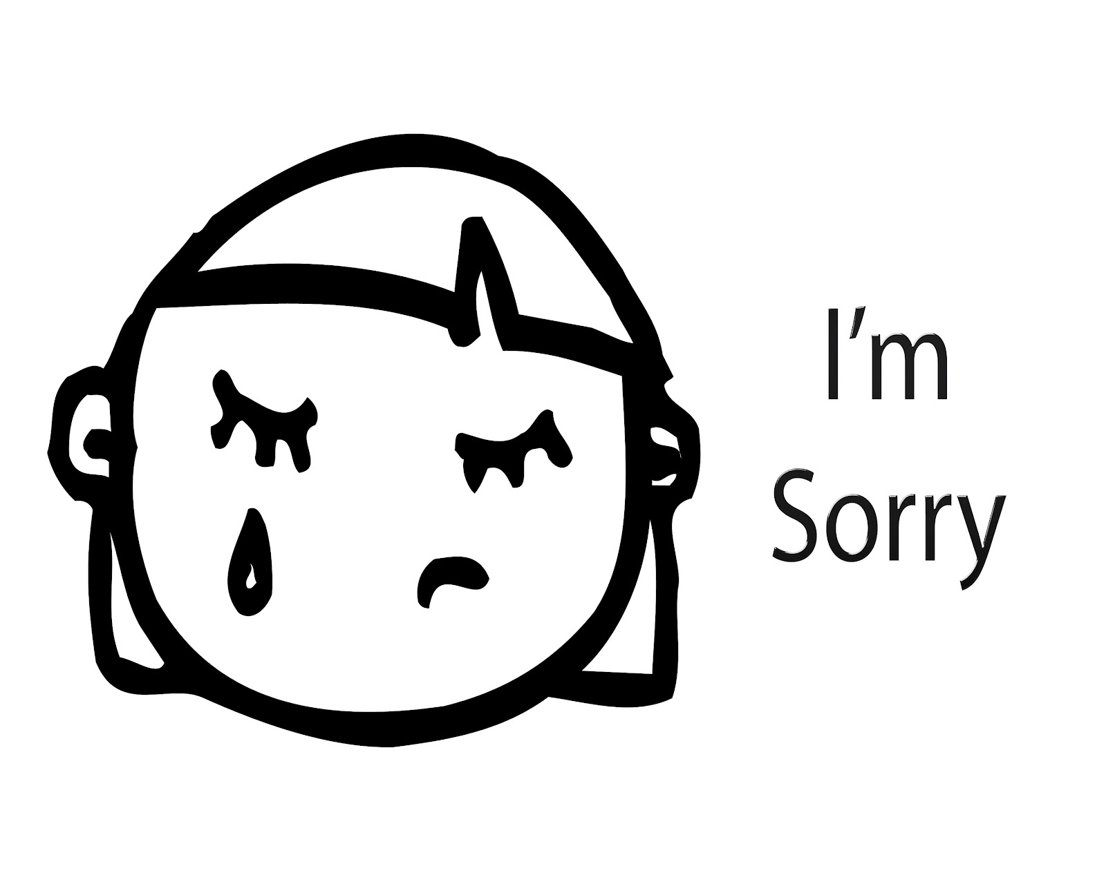 I m sorry clipart black and white love vector black and white CJO Photo: I\'m Sorry - Page 1 vector black and white