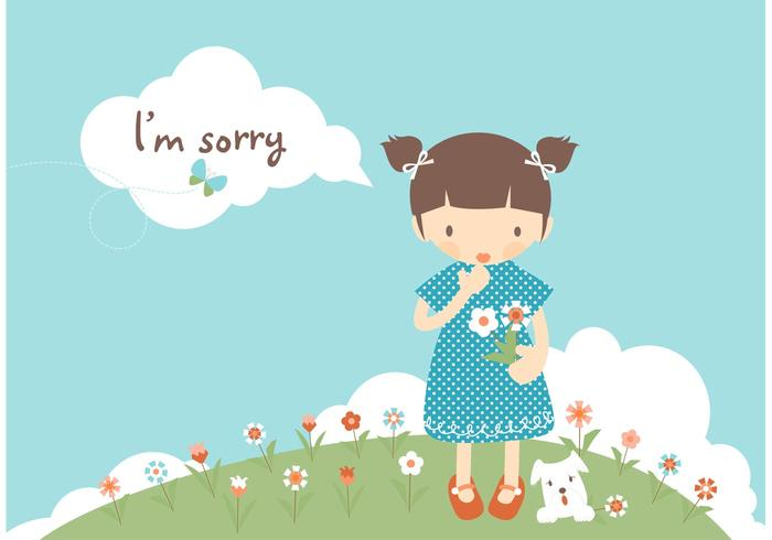 I m sorry for your loss color clipart banner royalty free library Free I\'m Sorry Card Vector - Download Free Vectors, Clipart ... banner royalty free library