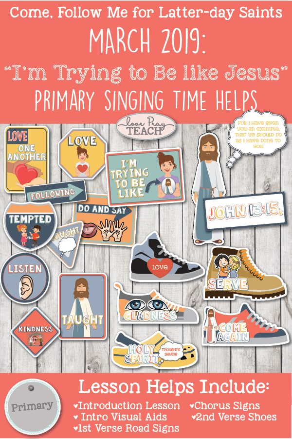 """I m trying to be like jesus clipart image freeuse library Come, Follow Me 2019-For Primary- Singing Time Helps March: """"I'm Try To Be  Like Jesus\"""