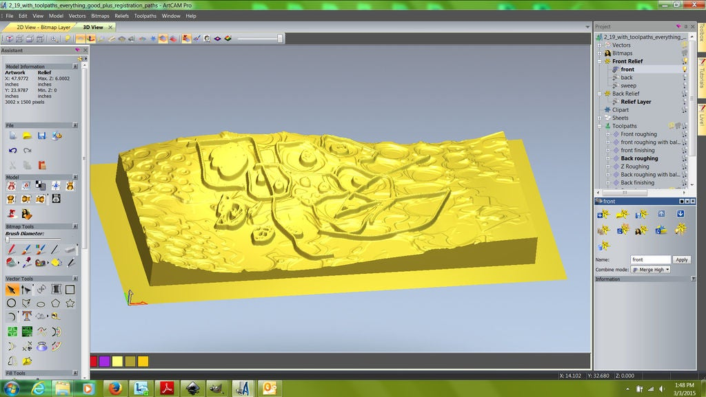 I merge highr and clipart disapears artcam graphic library library Flip Machining on the DMS CNC Router: 5 Steps (with Pictures) graphic library library