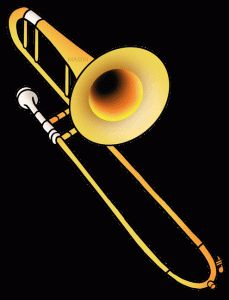 I play trombone whats your superpower clipart free clipart transparent 7 Best Trombone images in 2017 | Music, Trombone, Instruments clipart transparent