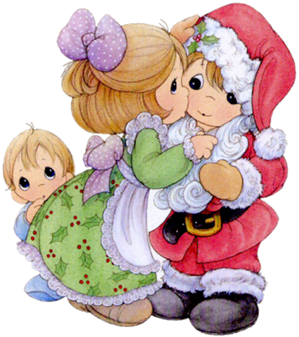 I saw mommyk kissing santa claus quote clipart jpg stock Preciosos Momentos ( reflexiones, pensamientos ) | Precious ... jpg stock