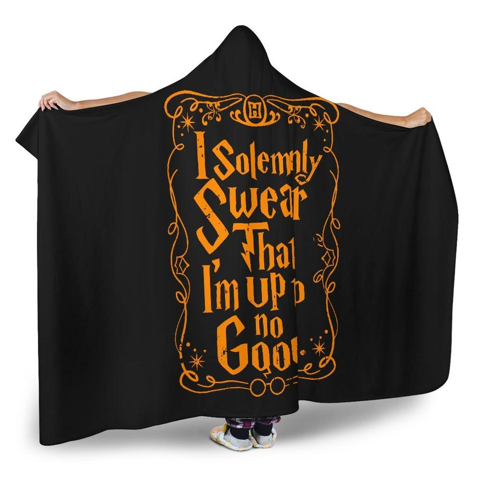 I solemnly swear i am up to no good clipart vector black and white stock I Solemnly Swear That I Am Up To No Good Hooded Blanket ... vector black and white stock