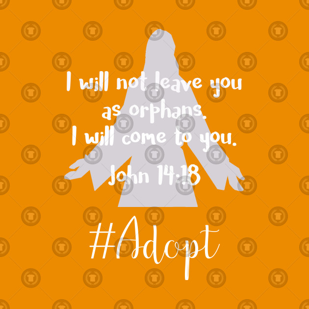 I will not leave you orphaned clipart svg black and white I will Not Leave You as Orphans Religious Adoption svg black and white