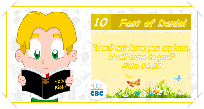 I will not leave you orphaned clipart graphic royalty free Fast of Daniel – Day 10 – His children\'s inheritance | graphic royalty free