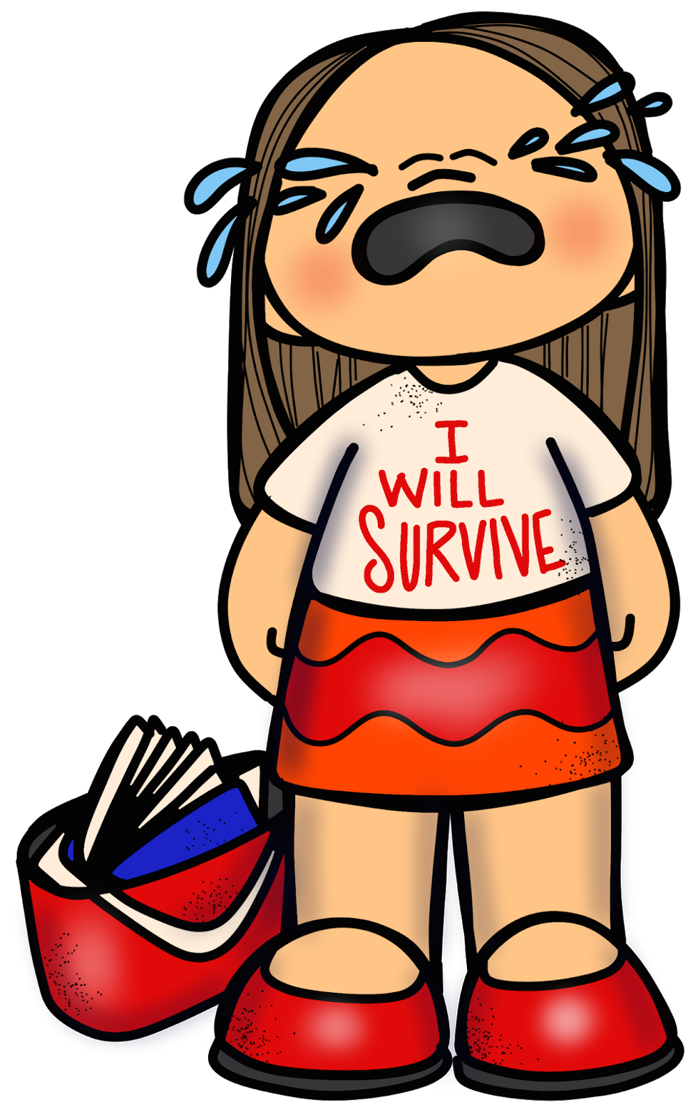 I will survive clipart png library Catch My Words: Back to School & SALE png library