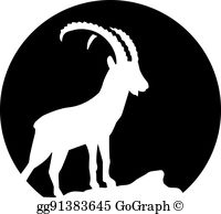 Ibex clipart banner library library Ibex Clip Art - Royalty Free - GoGraph banner library library