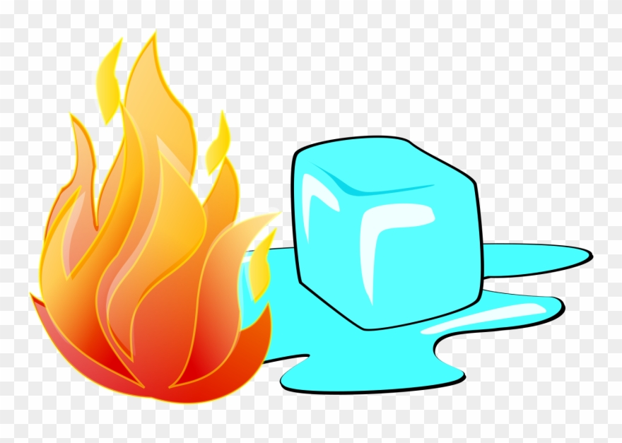 Ice and fire clipart graphic library download Fire And Ice Clipart - Ice Cubes And Fire - Png Download ... graphic library download