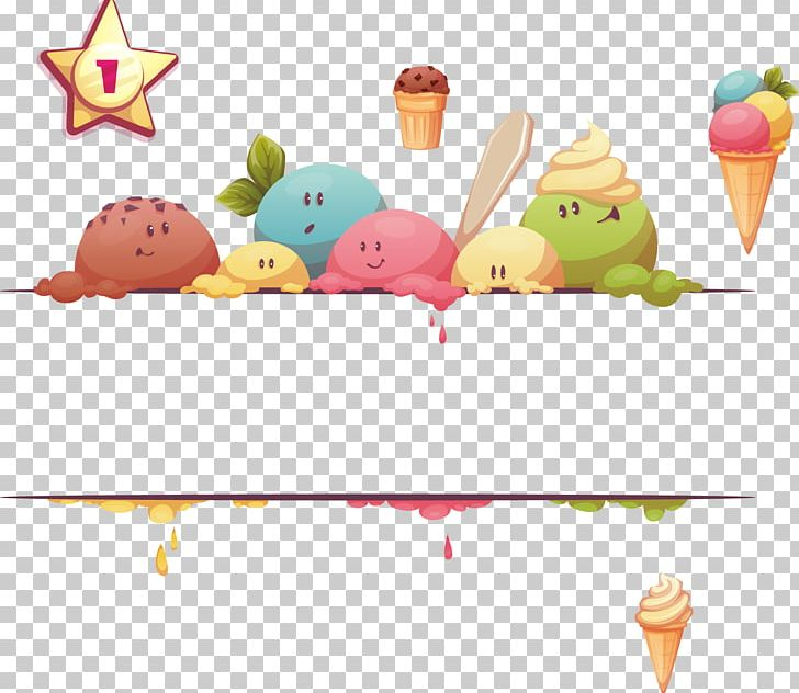 Ice cream banner clipart graphic transparent stock Ice Cream Social Snow Cone Web Banner PNG, Clipart ... graphic transparent stock