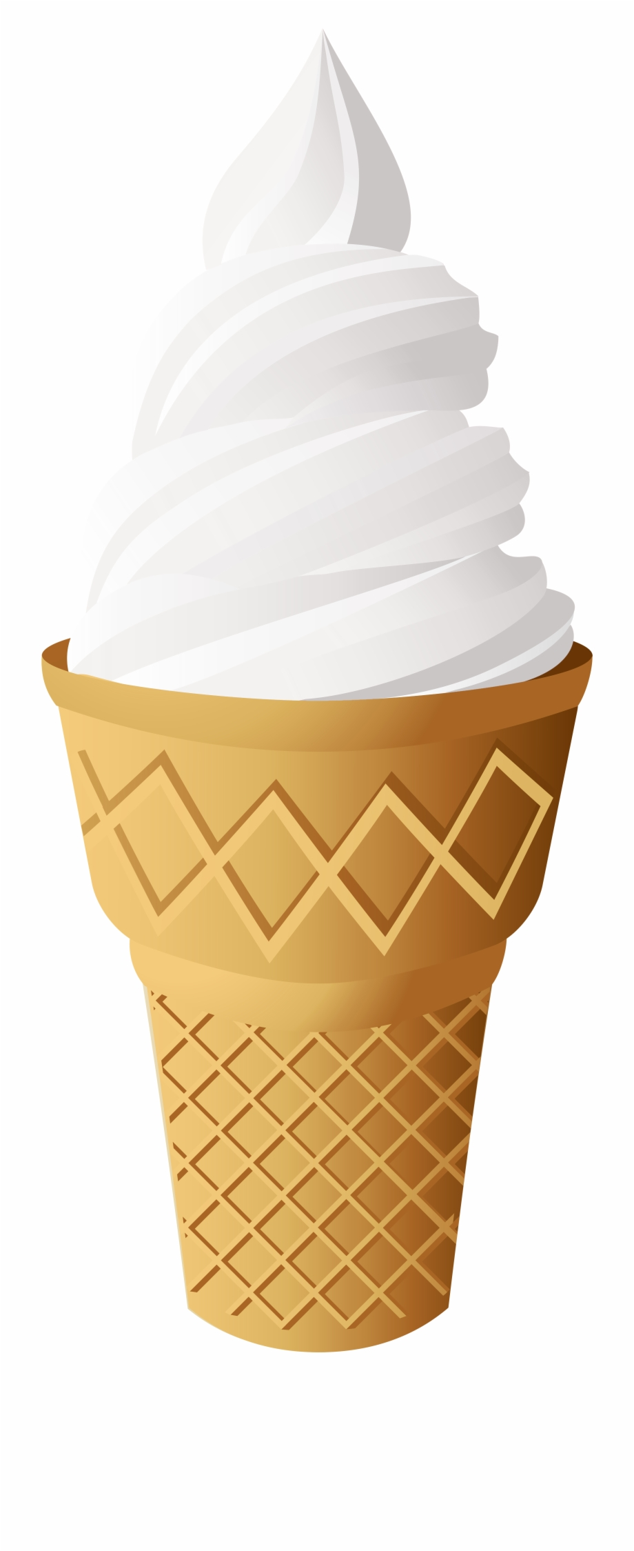 Ice cream cone clipart png picture library stock Vanilla Ice Cream Cone Png Clip Art - Vanilla Ice Cream ... picture library stock