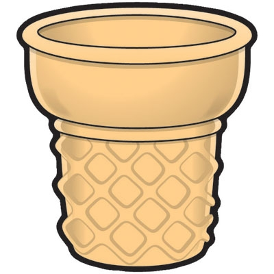 Ice cream cone without ice cream clipart image free Ice cream cone without clipart - ClipartPost image free