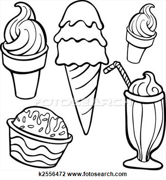 Ice cream cup clipart black and white picture free download Ice cream black and white photos of ice cream cup drawing ... picture free download