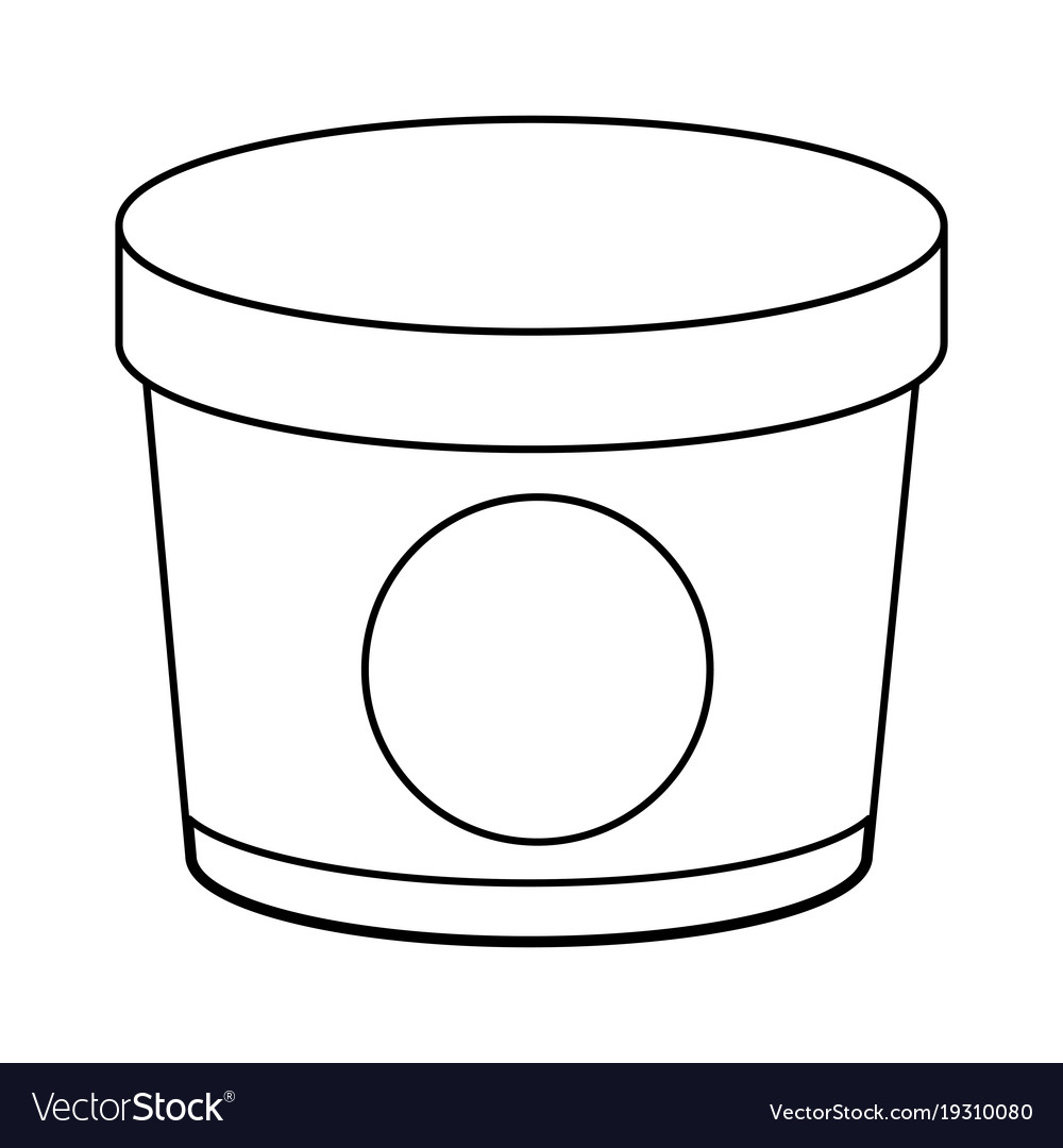 Ice cream in bucket clipart image library Ice cream bottle image library