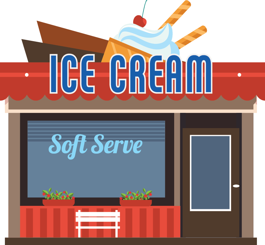 Ice cream shop clipart png black and white How to Start an Ice Cream Business   DSL Inc. png black and white