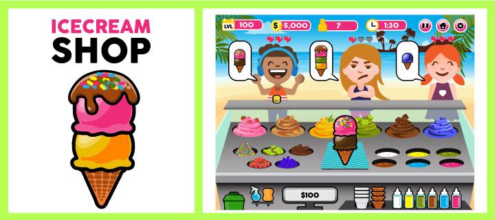 Ice cream shop clipart clip art black and white download Ice Cream Shop clip art black and white download