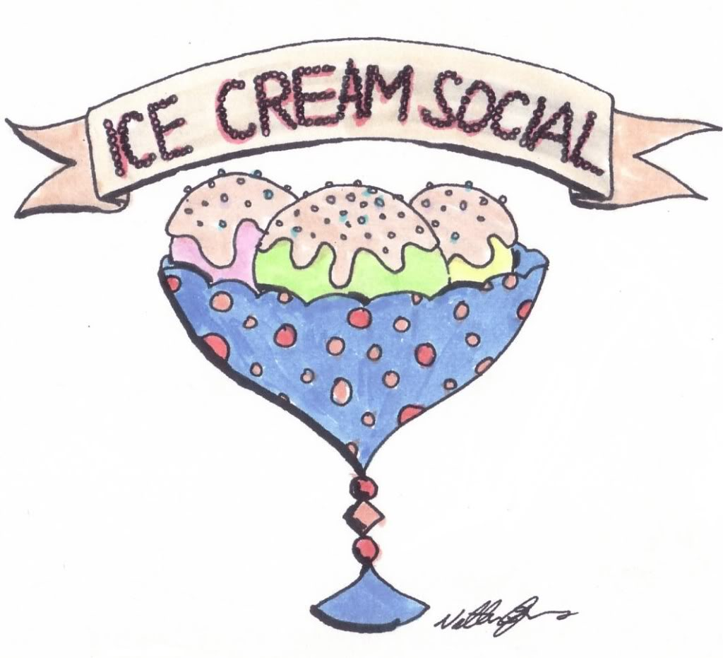 Ice cream social clipart free png black and white library Ice Cream Social clipart free image png black and white library